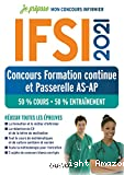 IFSI - Concours Formation continue et Passerelle AS-AP